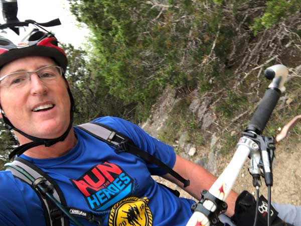 Dr. Booth Mountain Biking